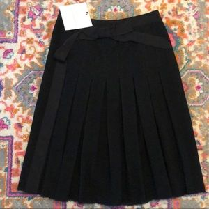 NWT Lanvin Pleated Wool Skirt Hiver 2008